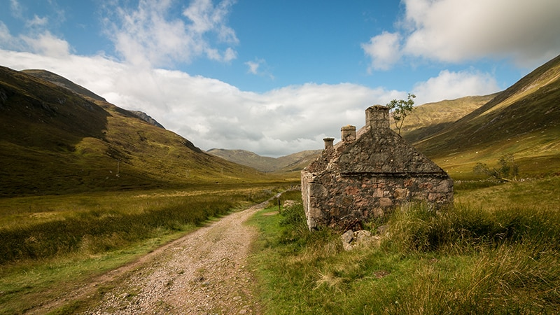 01 Wildlife-men-scotland-schottland-road-through-countryside